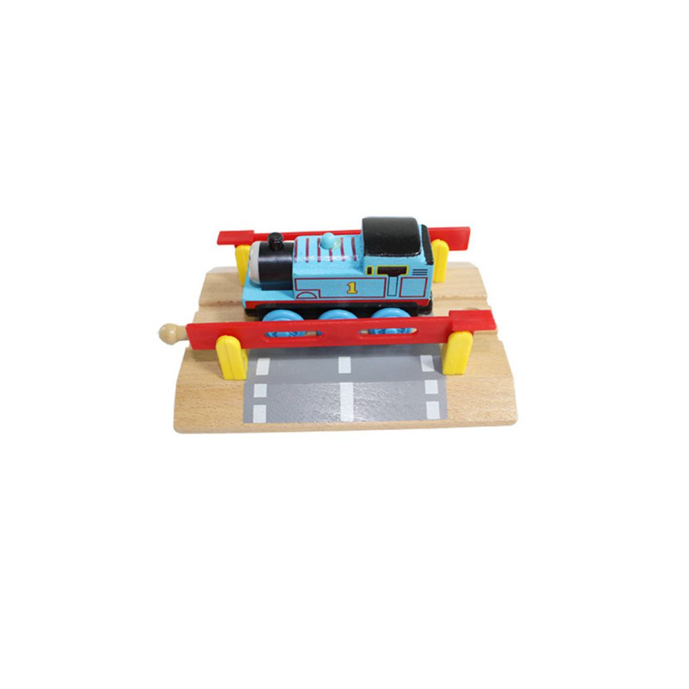 Thomas and Friends --1PCS Thomas Wooden Train Track Railway Accessories --Railroad Crossing Intersection