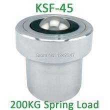 KSF-45 45 мм Монтажная база углеродистой стали 250/280kgs шарикоподшипник с 200kgf Весна загрузки Ёмкость KSF45 единиц мяч передачи