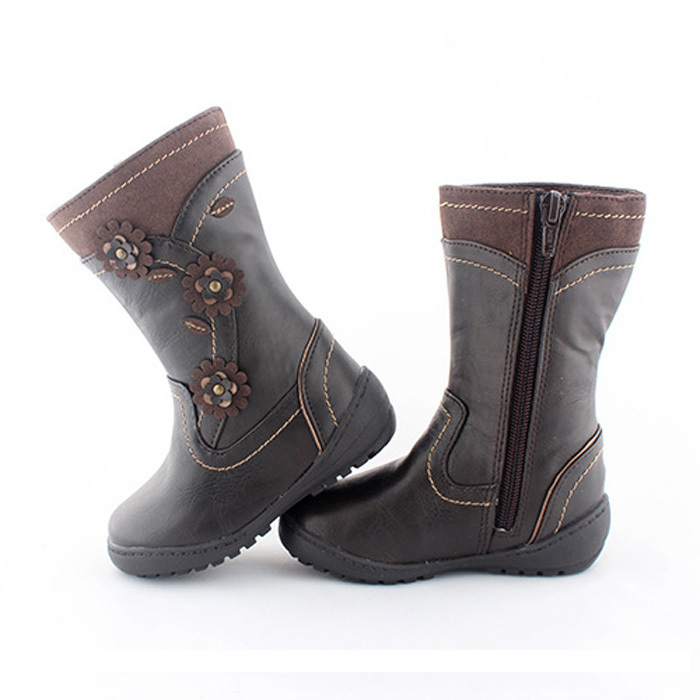 Children-Snow-Boots -Girl-Winter-Brand-Fashion-Cute-Flowers-Zippers-PU-Leather-Boots-Kids -Cotton-Padded.jpg