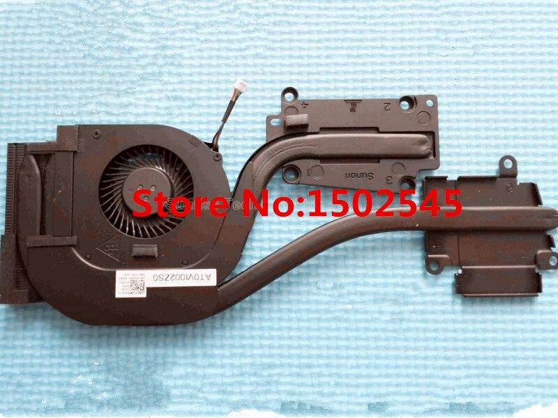 Бесплатная доставка подлинный новый оригинальный охлаждающий вентилятор для процессора ноутбука DELL Latitude E6540 радиатор и вентилятор Радиато...