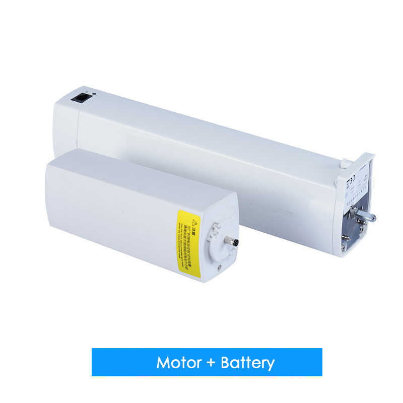5 years Guarantee KT82LE Rechargeable Curtain Motor High quality DC Automatic Curtain Motor and battery Free shipping