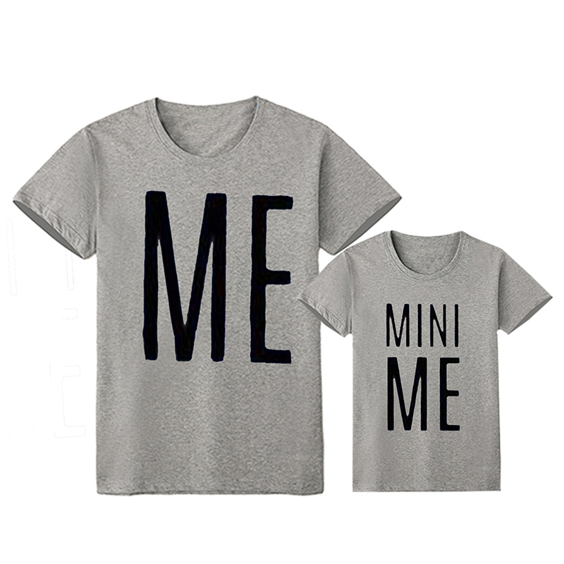 ME /& MINI ME Matching Daddy Dad Son Daughter T-Shirt Tee Babygrow Baby Grow Gift