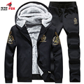 New Brand Thick fleece Warm Winter Coats Men's Hoodies And Sweatshirts Outwear Polo Hooded Sportswear Tracksuit For Men clothing