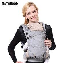MOTOHOOD Ergonomics Baby Carrier Sling Portable Child Backpacks Thickening Shoulders 360 Ergonomic Hoodie Kangaroo ergonomic backpacks bag sling for baby from 0 to 36 months portable for baby carrier sling