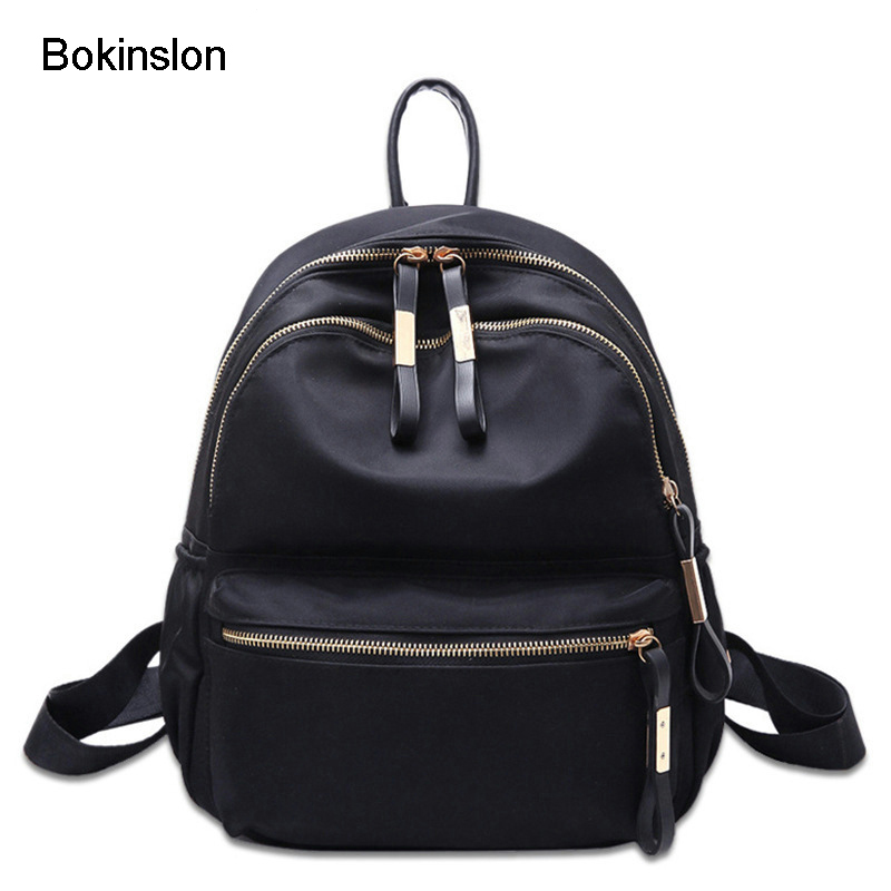 Bokinslon Oxford Backpack Woman Fashion Embroidered Women Travel Bags Popular Small Fresh Ladies School Bags 3 9kg 40kph 48v 500w brushless gear hub motor for rear ebike electric bike or electric bicycle