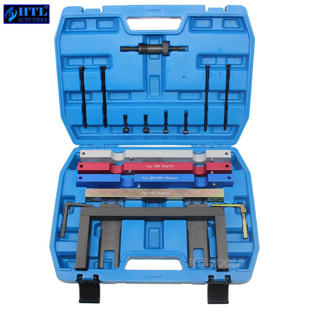 Outils de distribution de moteur pour BMW N51 N52 N53 N54 N55 arbre à cames Vanos ensemble d'outils de distribution de volant