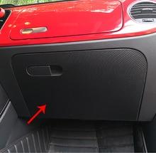 1pc PU for Volkswagen Beetle 2012-2018 Copilot Glove box Kick pad Protective sticker