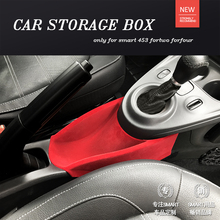 982968818e0 Armrest Center Storage Box Container Glove Organizer Case for smart 453  fortwo forfour(China)