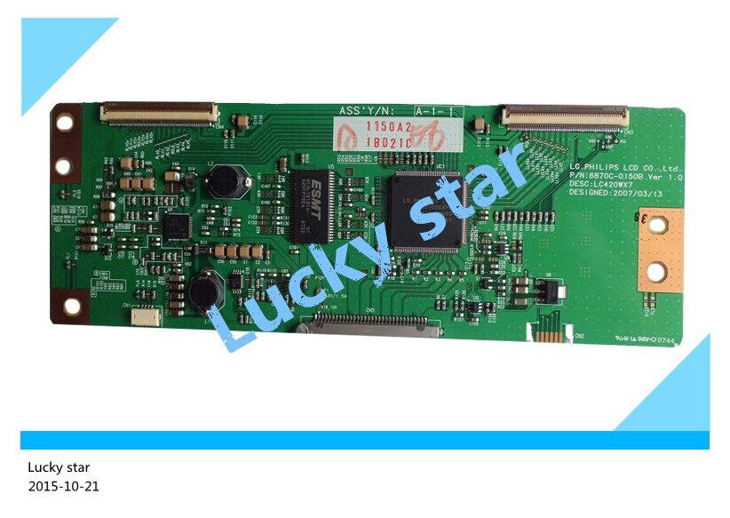 все цены на  98% new good working High-quality original for board LC420WX7-SLE1 screen 6870C-0169B T-con logic board 2pcs/lot  онлайн
