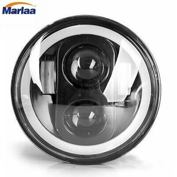 5-34 5.75 inch Motorcycle Daymaker LED Projector Halo Headlight for Harley Davidson Headlamp Spotlight Driving Light harley davidson headlight price