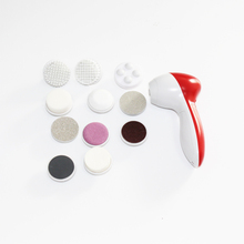 11 In 1 Electric Body Face Foot Skin Care Wash Brush Cleaner Set Tool Product Facial