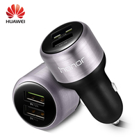 HUAWEI P9 Car Fast Charger Dual USB Supercharge 9V2A Original Super Charge 2A Type C Cable