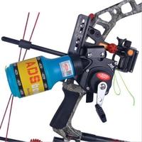 광고 낚시 bowfishing spincast 릴 기계 병 밧줄 떨림 복합 활에 대한 양궁과 함께 사용 recurve 보우 액세서리