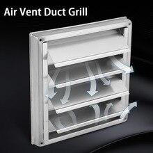 100 мм вентиляционное отверстие воздуховод решетка из нержавеющей стали настенный вентиляционное отверстие квадратная сушильная машина вытяжной вентилятор Выход