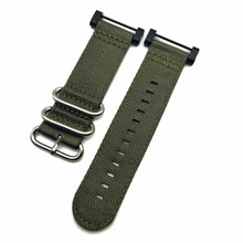 купить Green Silver Ring For Suunto Core Series Traverse Watch Band Strap Nylon Zulu Watchband 24MM And Adapters And 2Pcs Screwdriver по цене 722.96 рублей