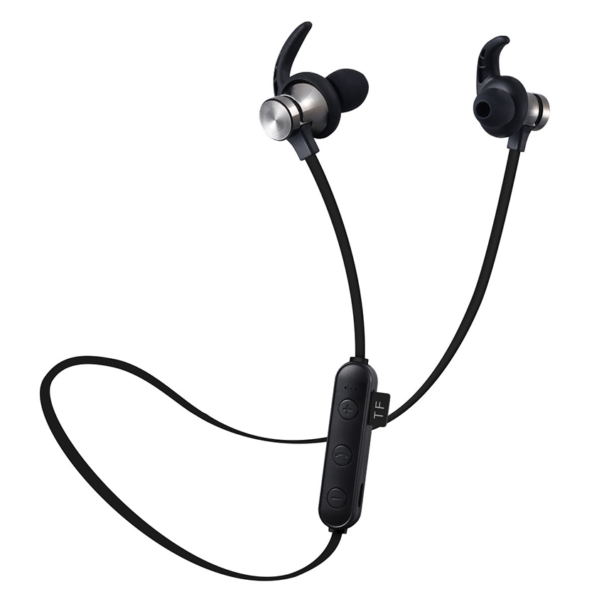 Aimitek XT-22 Magnetic Bluetooth Earbuds-black