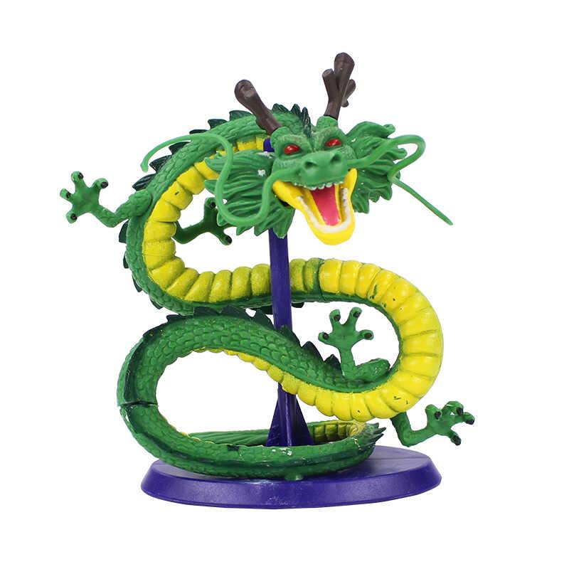 12-20cm 7 estilos dos desenhos animados dragon ball z mega clássico wcf shenron ouro super shenlong pvc figura de ação collectible modelo brinquedo boneca