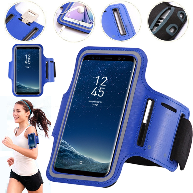 99934c542be Sports Running Arm Band Case For Samsung Galaxy S10e S10 S9 S8 S7 S6 Edge  A8 A6 Plus