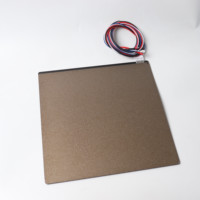 BLV MGN Cube 3d printer magnets heated bed with double side powdered textured coated PEI sheet