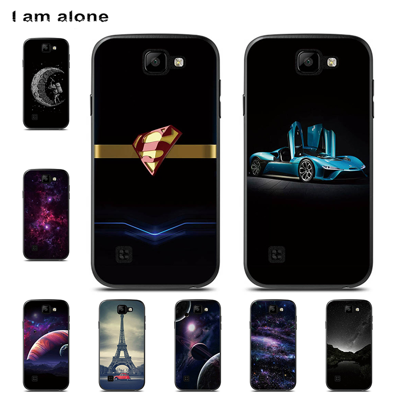 I am alone Phone Case For <font><b>LG</b></font> K3 <font><b>K100</b></font> 2016 4.5 inch Hard Plastic Patterned Mobile Fashion Shell Bag For <font><b>LG</b></font> K3 LS450 Free Shipping image