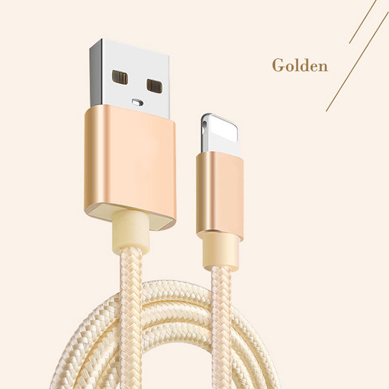 Android Type-C data cable usb Data sync Charger Charging for iphone 7 6 5s Fast Charging Smart Compatibility Golden Gray Color