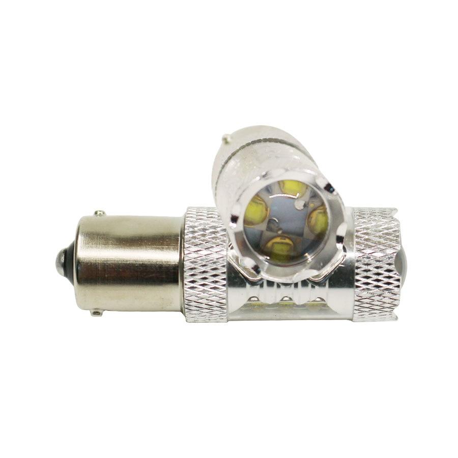 1PCS Car lights Sourcing White LED SMD 1156 BA15S S25 P21W Backup Reverse Light Bulb DC12-24V High Power