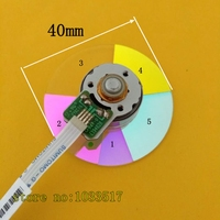Projector Color Wheel for optoma DK332 DK333 Projector diameter 40mm|Projector Accessories|   -