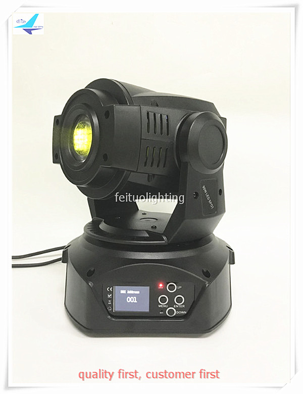 4pcs/lot New 60w Spot Moving Head Light LED Rainbow Effect Lumiere Gobos 3 Prism 60w Moving Head Stage Show Disco Party Lighting
