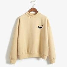 Harajuku Kawaii Black Cat Sweatshirt