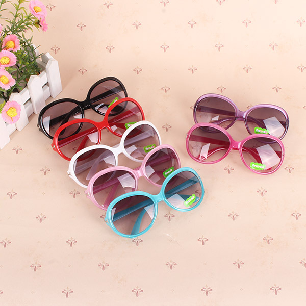 √Niños Niñas niño plástico marco UV400 sol sombras gafas de sol - a595