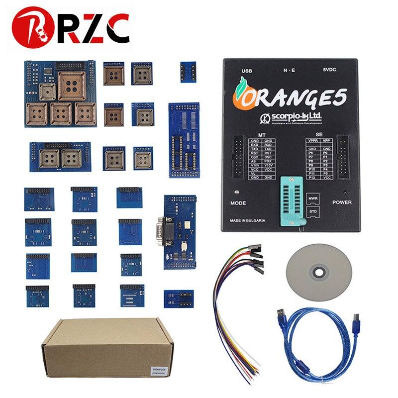 OEM Orange5 Programmer Device With Adapter Packet Hardware Enhanced Function Software High Quality Orange 5 ECU