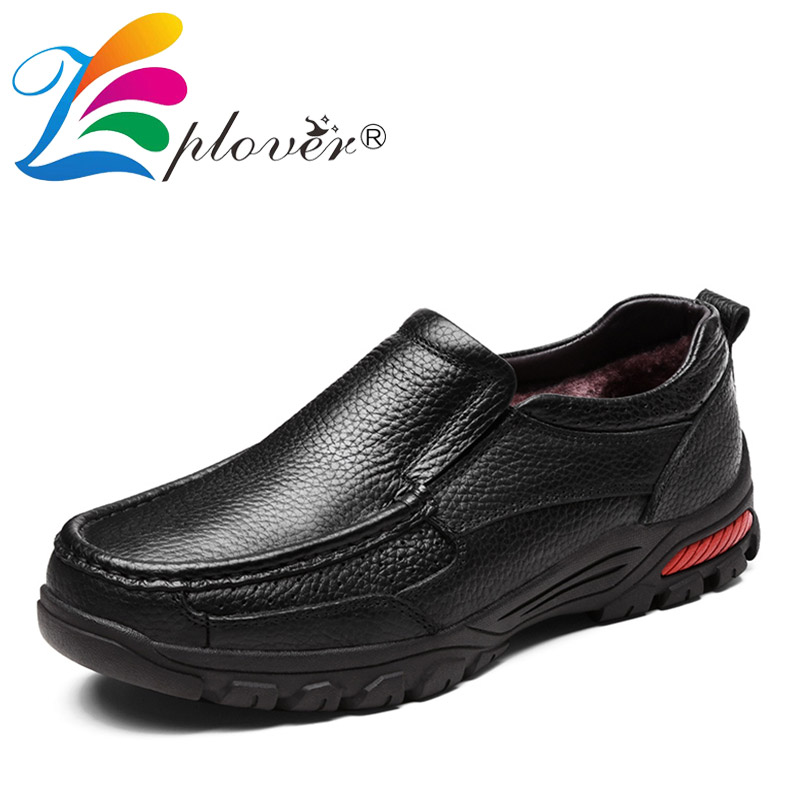 Zplover Big Size Men Genuine Leather Shoes Handmade Autumn Winter Brand High Quality Men Flats Shoes Casual Soft Leather Loafers ключ гаечный комбинированный 25х25 santool 031604 025 025 25 мм