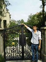 aluminum fence gate iron side gates for houses wrought iron metal gates