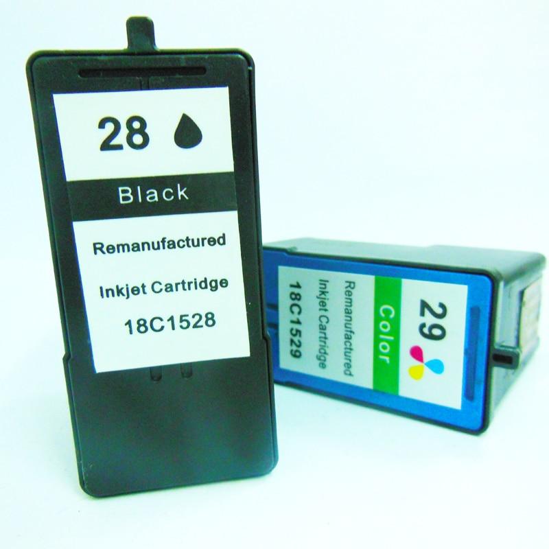 Lexmark үшін 2PK қара және түсті сия - Кеңсе электроника - фото 2