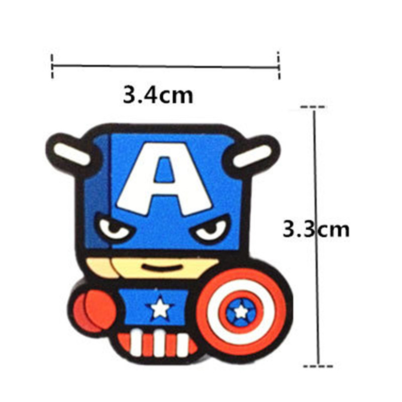 Image 4 - 12pcs/set Car Ornament Automotive Decor Cartoon Air Freshener For Marvel Avengers Hero Figures Air Condition Vent Outlet Clip-in Air Freshener from Automobiles & Motorcycles
