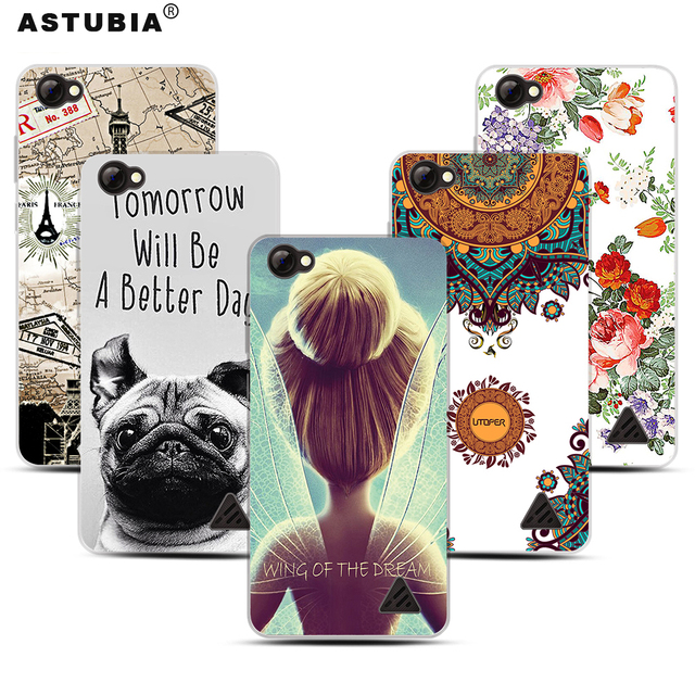 """ASTUBIA Case For Oukitel C5 Pro Case 5.0"""" Space Planet Flower Dog Soft TPU Cover For Oukitel C5 Pro Case Silicon Capa For C5 Pro"""
