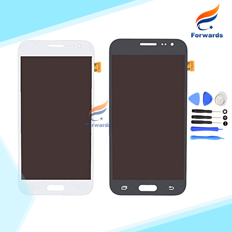 Brand new parts for Samsung Galaxy J2 J200 J200F Lcd Screen Display with Touch Digitizer + Tools Assembly 1 piece free shipping new lcd display matrix for 7 nexttab a3300 3g tablet inner lcd display 1024x600 screen panel frame free shipping