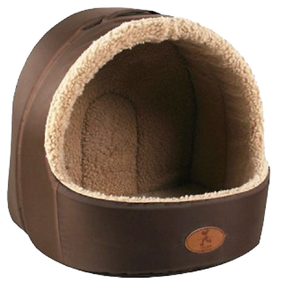 Soft Pet Dog Cat Bed House Sleeping Cave Dog Bed House Plush Nest Mat Pad For Pets Puppy Cats