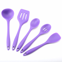 Silicone Cooking Tools Kitchen Utensils Wholesale 6pcs New Design Silicone Cover