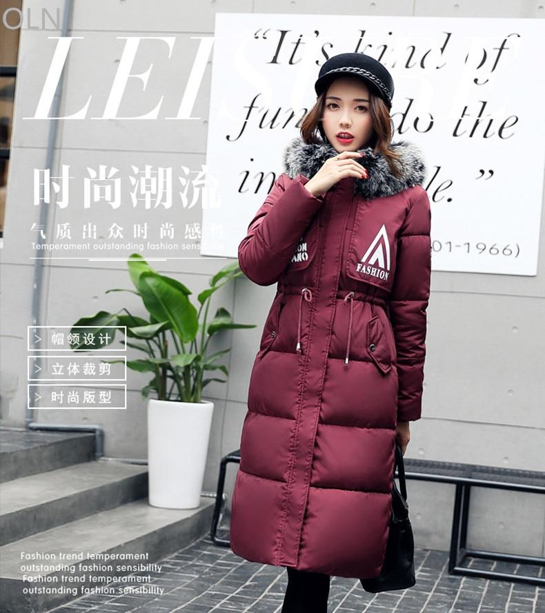 2018 Women Coat Jacket Warm Woman Parka Jacket Faux Fur Hooded Winter Thick Coat Women 2017 New Winter Collection Female Jackets