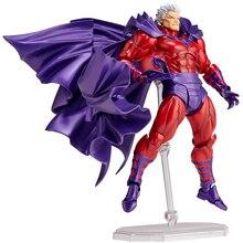 Figuras de Ação maravilha Homem X Magneto Série FIGMA 006 Coleção PVC Modelo Brinquedos Boneca 16 cm