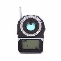 Giantree CC309 GPS Espiado de Gama Completa Anti Detector de Detección de la Señal De RF Detector de Señal GSM WIFI G4 Lente Tracker Dispositivo negro