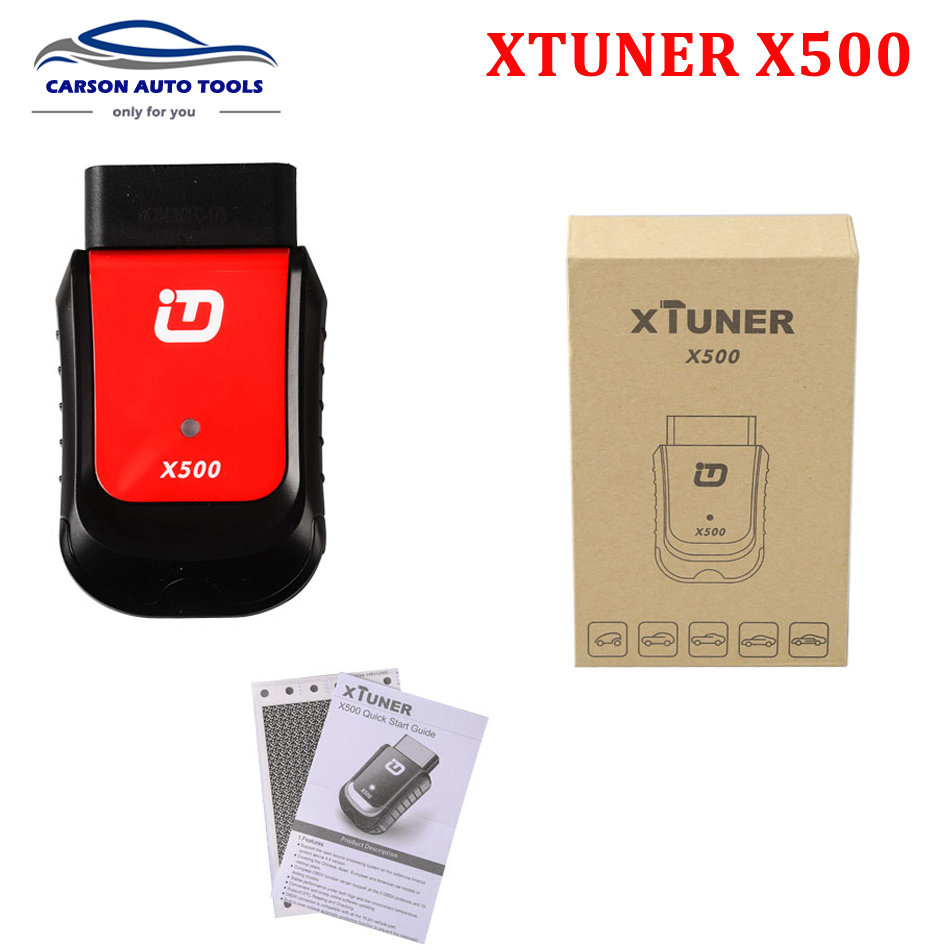 2017 Xtuner X500 Bluetooth Android Universal OBD2 Car Diagnostic Tool for Engine,ABS,Battery,DPF,EPB,Oil,TPMS,IMMO Auto Scanner