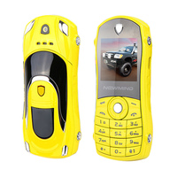 2015 Bar Small Size Car Key Model Cell Mini Mobile Phone Cellphone P42