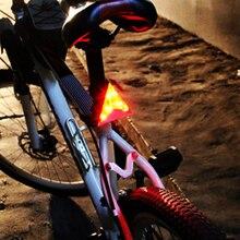 Cycling light 12 LED Laser Bike Light seatpost/warning 2 Modes Waterproof bike
