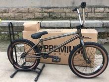 Premium Subway bmx bikes 20 full crmo full bearings goldnbrown cheap Street Steel Aluminum Alloy Male
