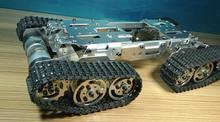 Nuevo WST Enhanced Edition obstáculo Escalada Crawler crawler chasis robot chasis Del Tanque Modelo de Tanque Inteligente