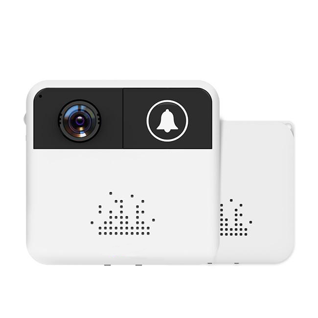 Smart Wireless WiFi Video Doorbell Battery Powered House Intercom 720P HD Door Bell Camera with IR Night Vision Two way Audio in Video Intercom from Security Protection