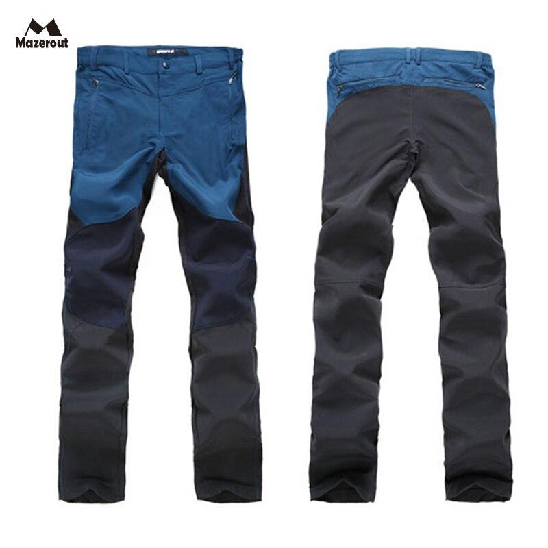 Prix pour MAZEROUT Homme D'été Trekking Pêche à Séchage Rapide Pantalon de Randonnée pantalon Hommes Sports de plein air Plus La taille camping Vêtements Respirant P50
