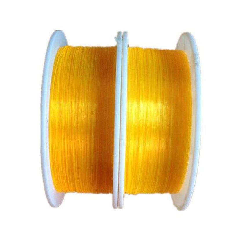 2700m/roll 0.75mm Fluorescent fiber optic Cable Red Orange Green neon PMMA fiber optic for gun sight lightting decorations